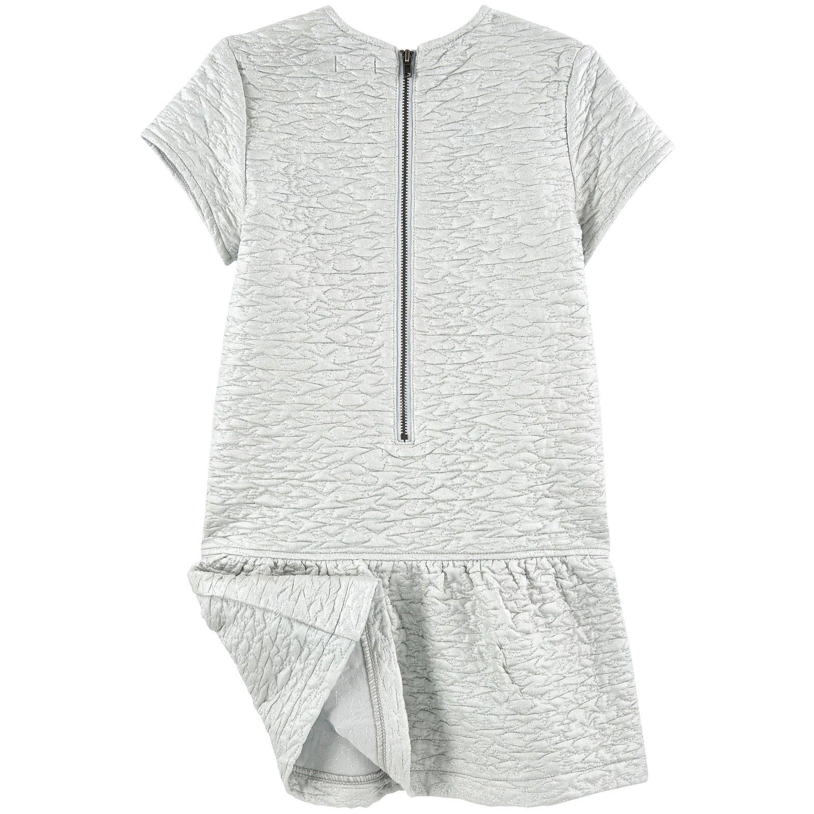 Robe en jersey embossé - 148055