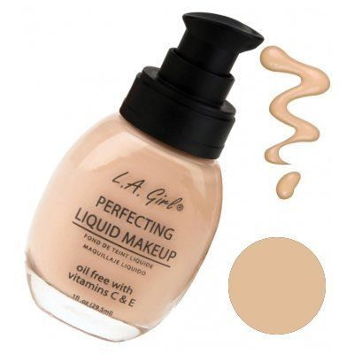 L.A. Girl Perfecting Liquid Makeup - Tan -- This is an Amazon Affiliate link. You can find more details by visiting the image link.