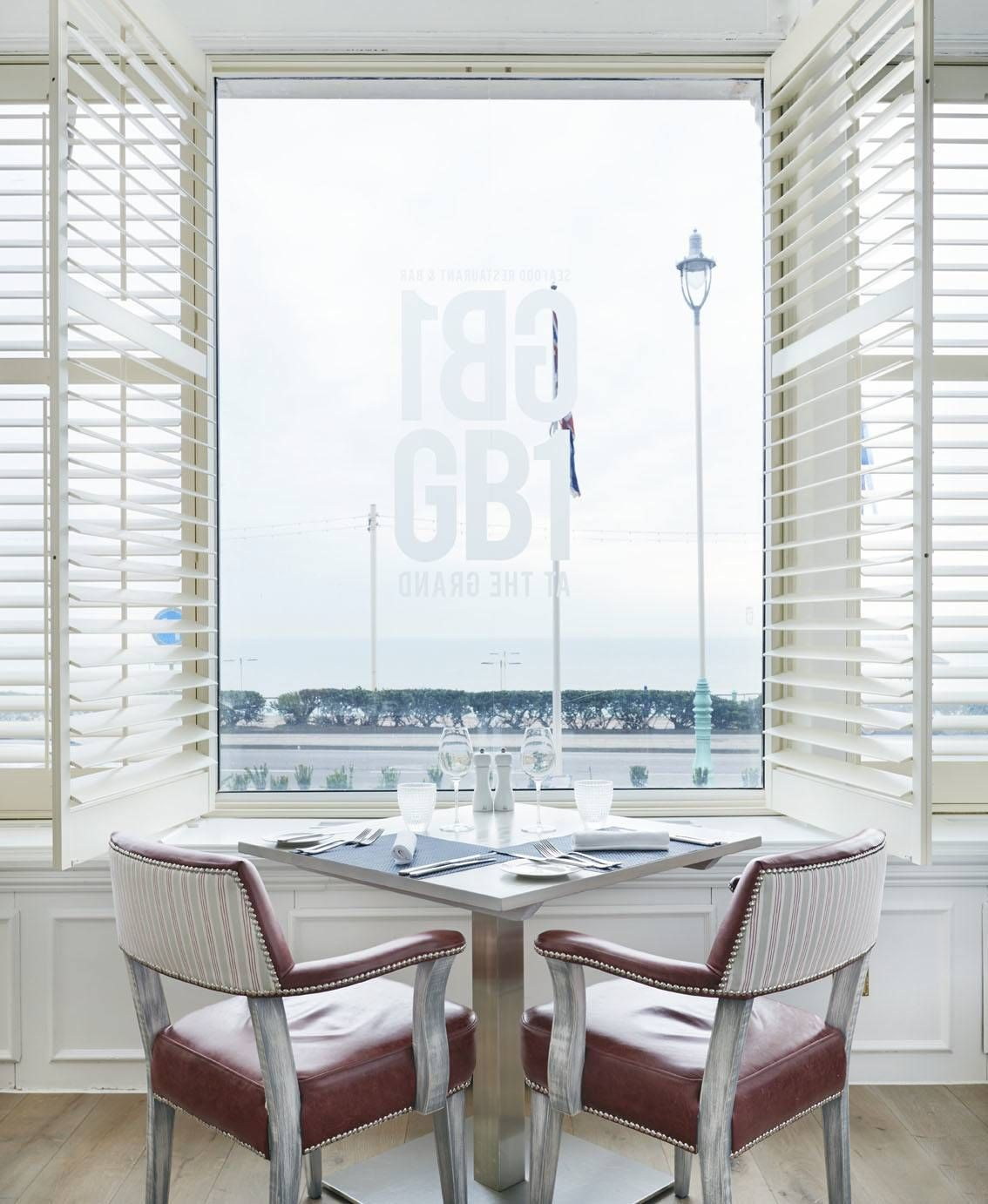 One of the most stunning views in Brighton, check this window seat out, GB1, Grand Hotel