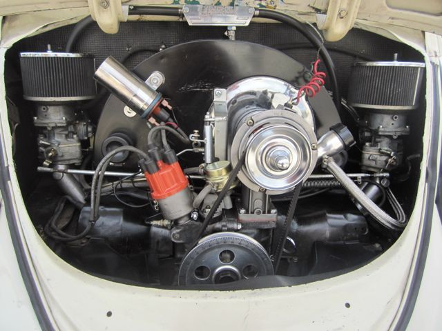 1641cc with dual Kadron carbs  It is an AS41 case, dual port intake