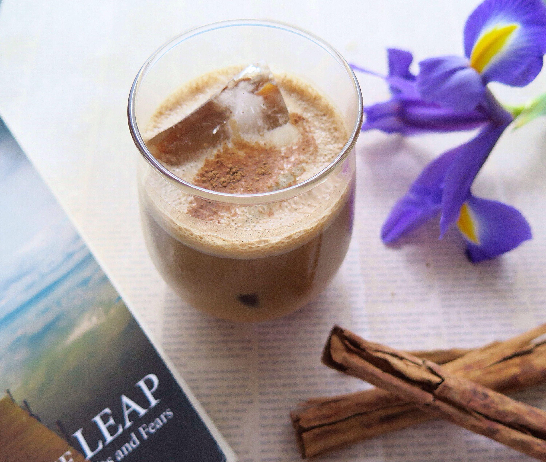 Real Cinnamon Walnut Latte