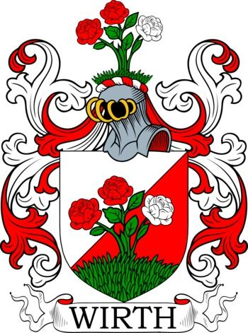 Wirth Family Crest And Coat Of Arms Coadb Pinterest Arms