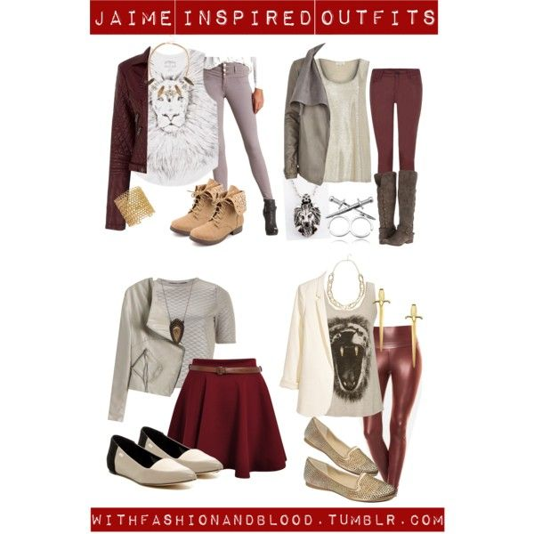"""""""Jaime inspired outfits for hanging out on the weekend"""" by withfashionandblood on Polyvore"""
