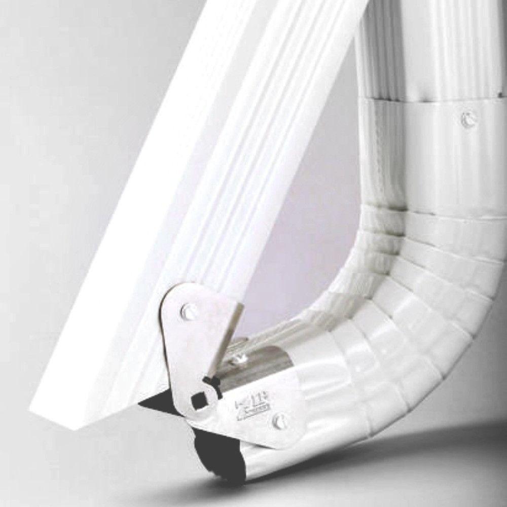 Zip Hinge Gutter Downspout Extension Solution Gutter Downspout Extension Gutters Downspout