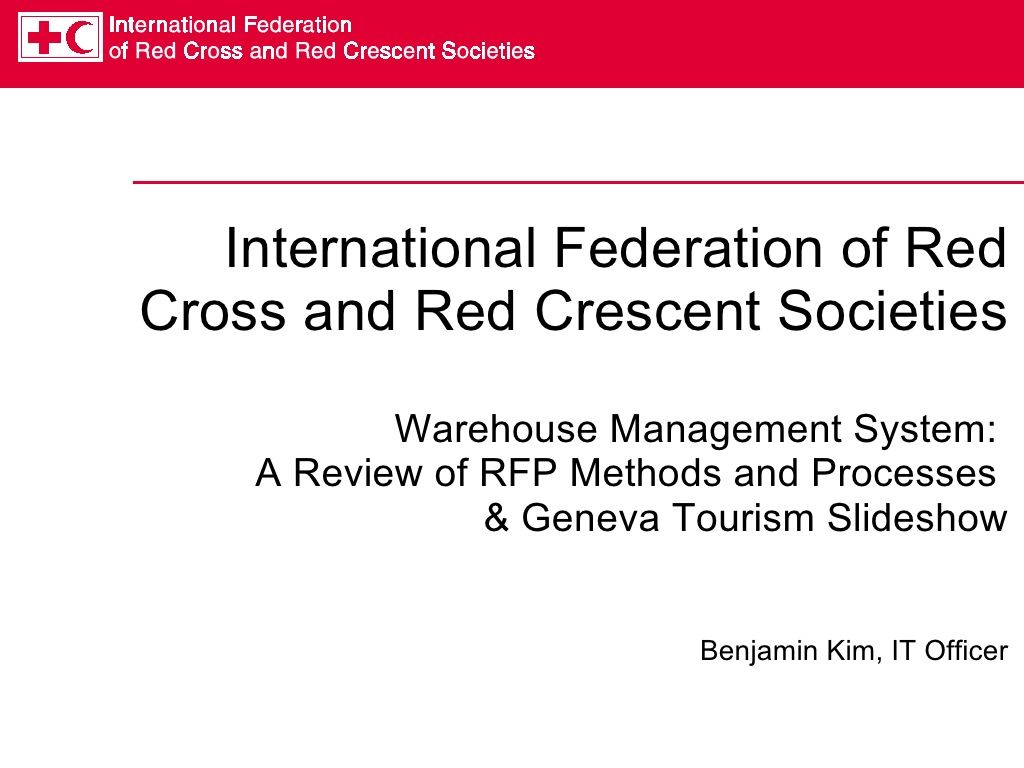 RFP Processes and Rationale by Mike97 via slideshare   RFP