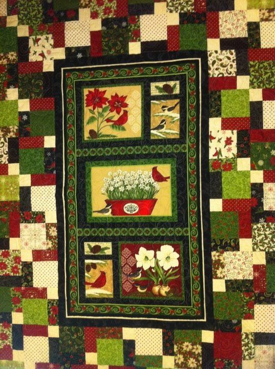 Christmas Panel Quilt Panel Quilts Panel Quilt Patterns Fabric Panel Quilts