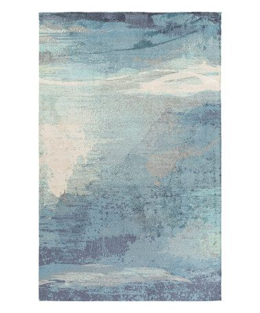 Look What I Found On Zulily Blue Watercolor Felicity Rug