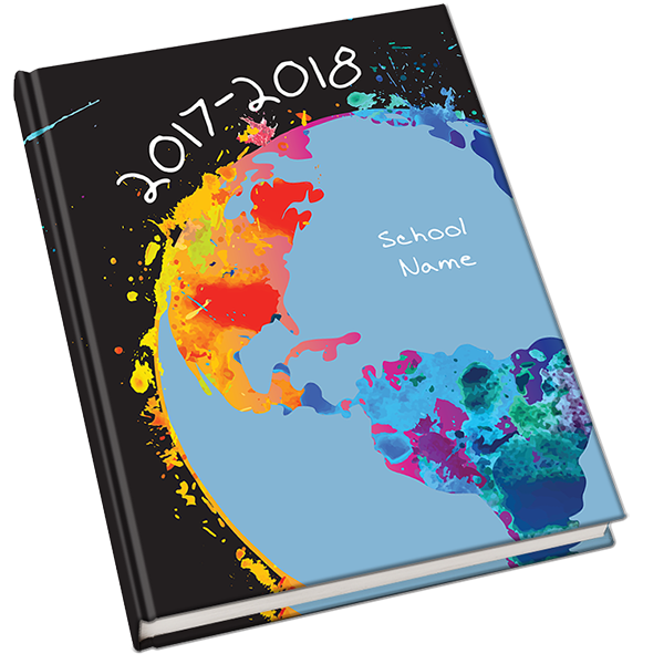 Swatches Yearbook Cover. The name suggests a beautiful, colorful ...