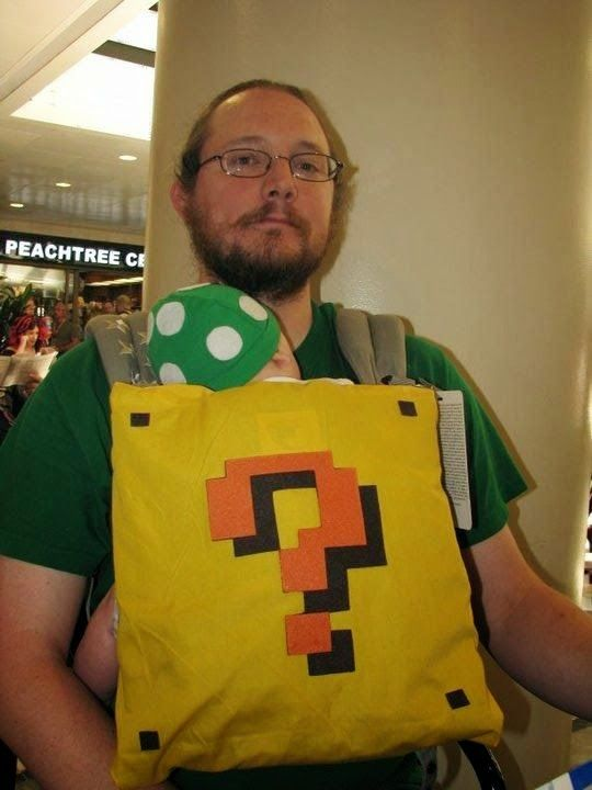 Luigi+and+mushroomjpg (540×720) Halloween Pinterest