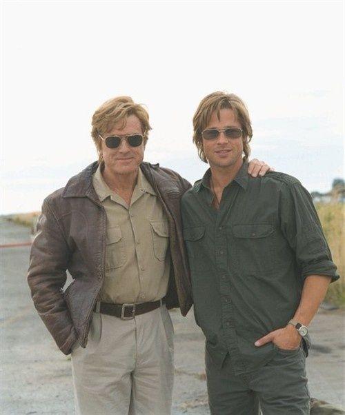 Robert Redford Muses Cinematic Men Robert Redford Brad Pitt Good Looking Men