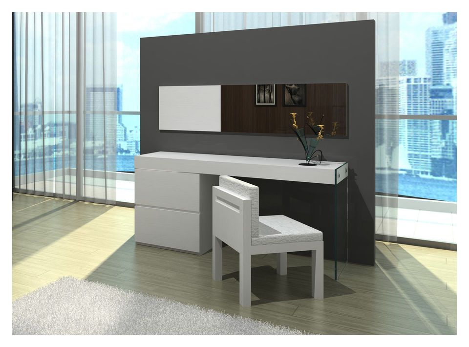 schminktisch frisierkommode kosmetiktisch dion wei spiegel stuhl zuk nftige projekte. Black Bedroom Furniture Sets. Home Design Ideas