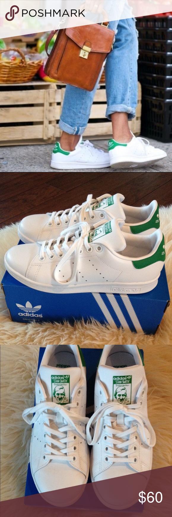 Adidas Originali Stan Smith J Originale Scarpe Da Tennis Nwt Originale J Stan Smith 645771