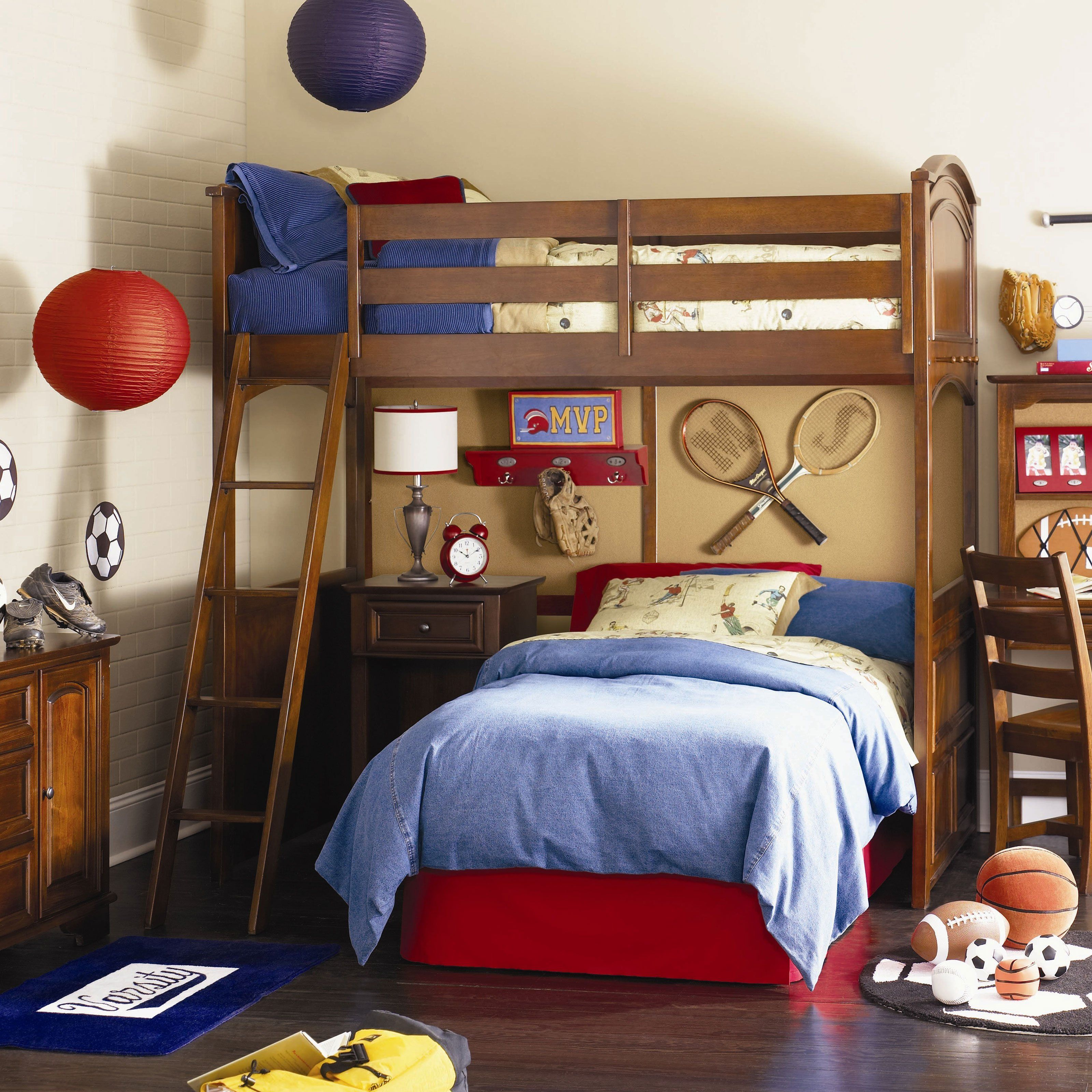 (Just what I was looking for!) Deer Run Loft Bed with