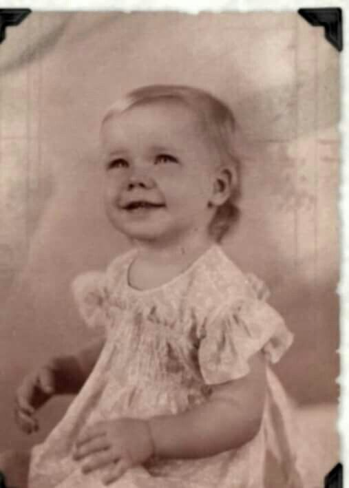 Janis as a baby
