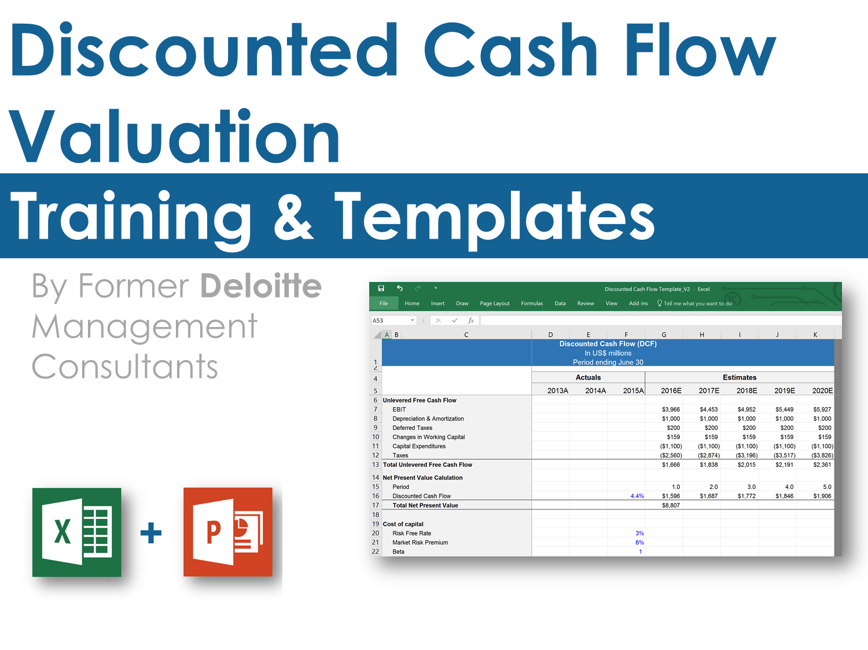 Dcf Model Cash Flow Statement Cash Flow Budget Forecasting