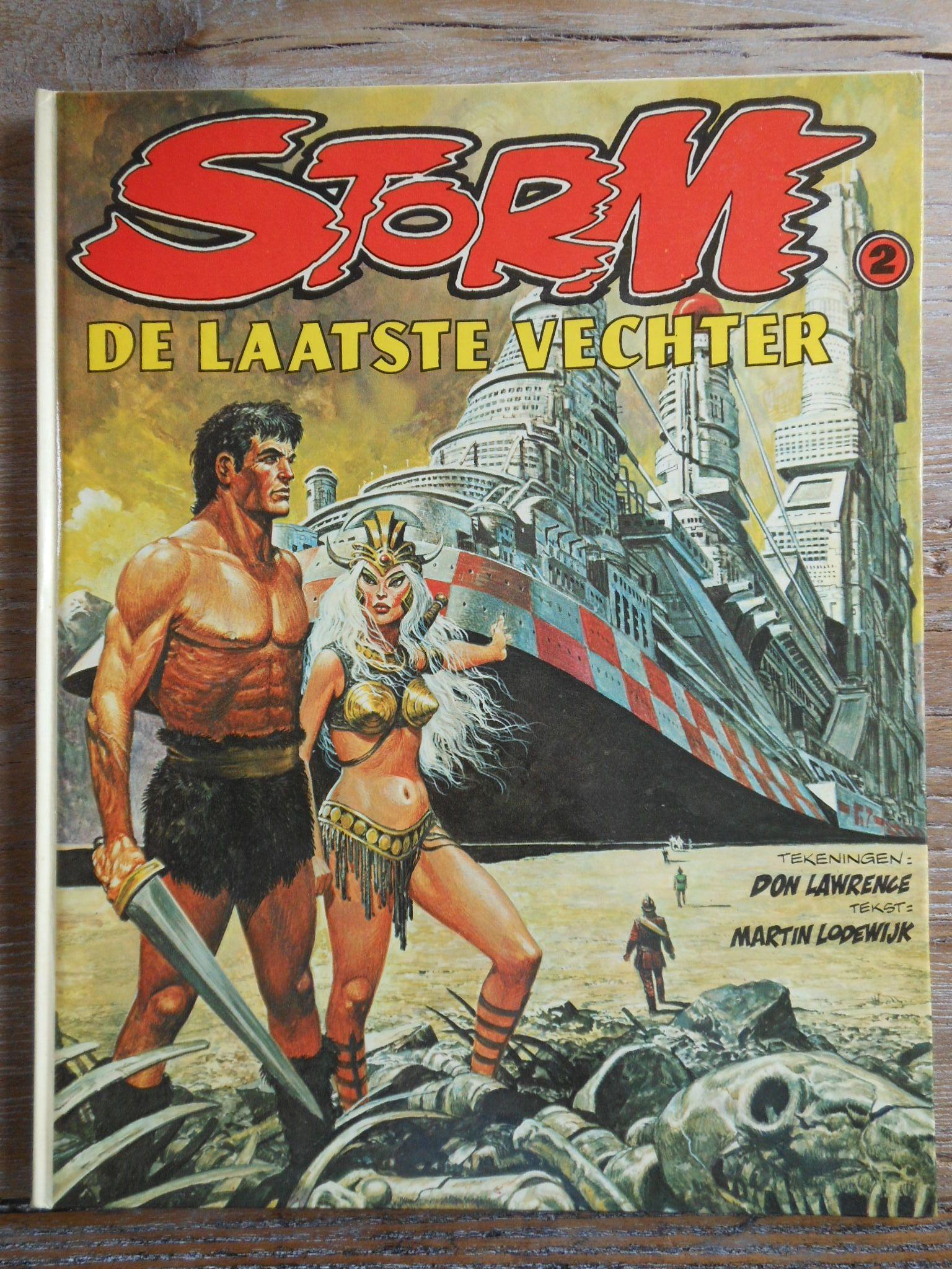 Storm. HC. Nr. 2. De Laatste Vechter. 1e druk 1980. Oberon