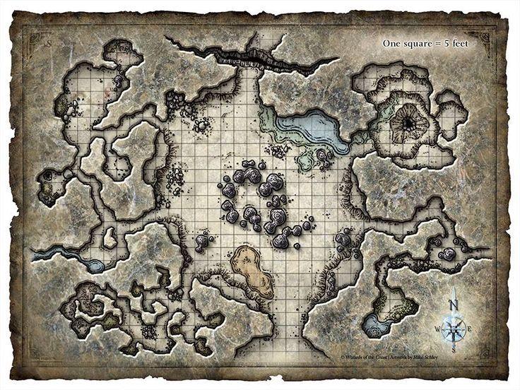 Image result for d&d cavern map   D&D maps in 2019   Fantasy