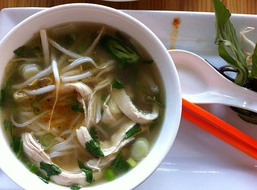 Chicken pho like what me or your Viet grandma would make