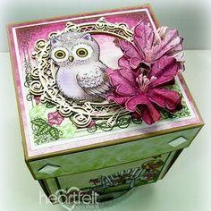 Heartfelt Creations - Petunia Explosion Box Project