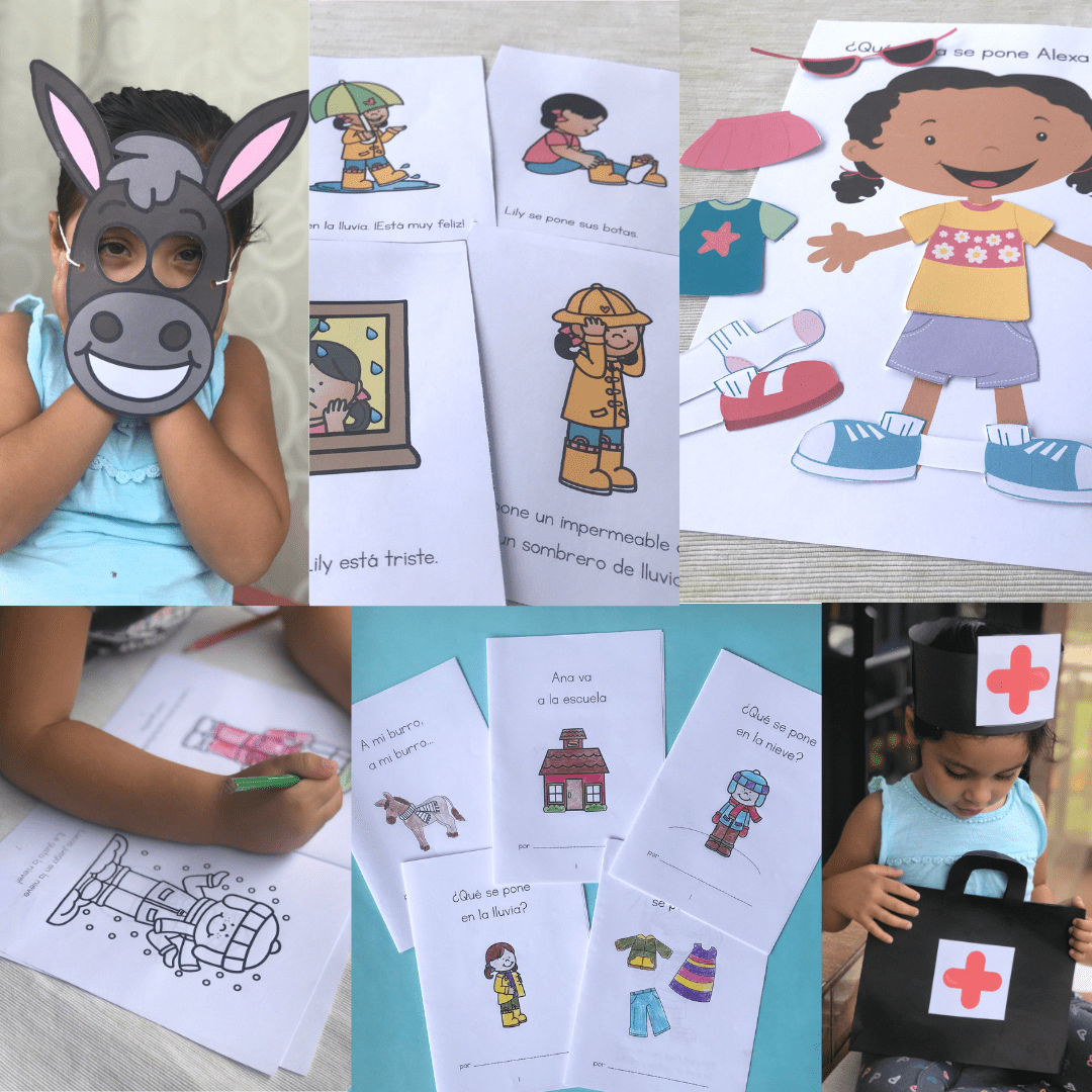 Preschool Spanish Lessons Activities Stories And Songs