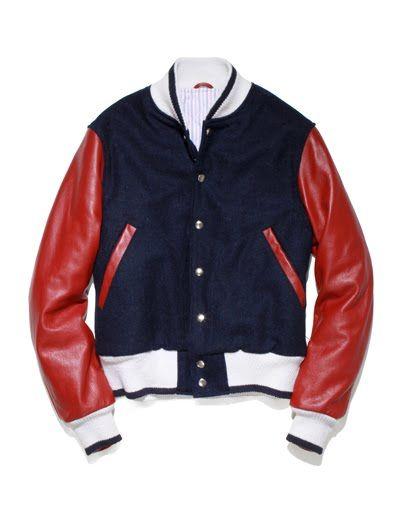 Thom Browne F/W'11 Varsity/Baseball Jacket.