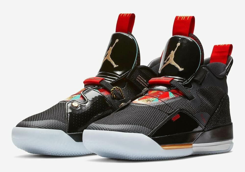 Nike Air Jordan 33 XXXIII Black Size 11