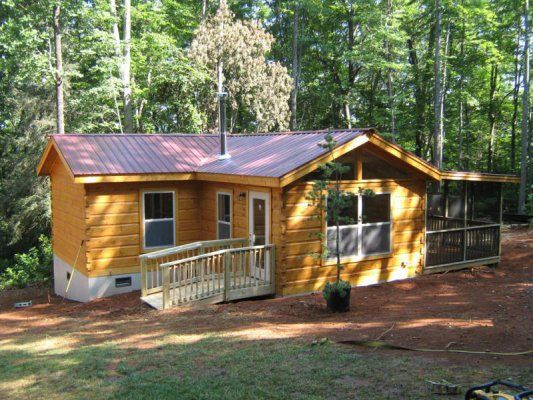 Log Cabin Kits Nc North Carolina Camping Cabins Log Cabin Kits Cabin Kits Cabin