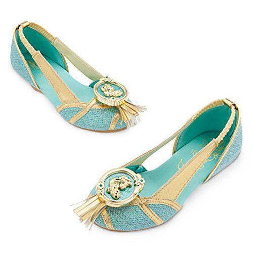 Disney Store Princess Mulan Costume Shoes for Girls Sz 11//12 Sz 13//1
