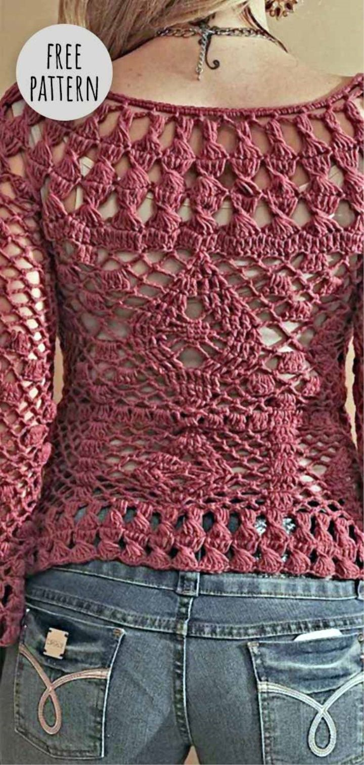 How to knit crochet openwork patterns 31