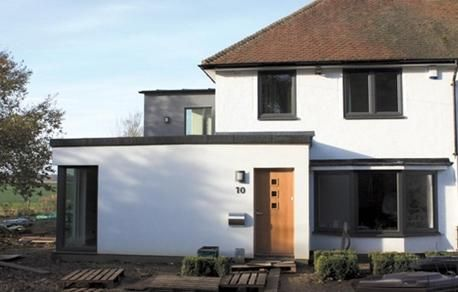 Using Paint To Modernise An Old House Exterior