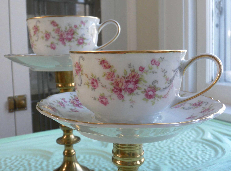 Tea Cup Vintage Vintage Repurposed Tea Cup Candle Holders By Heatherlvarady Teacup Candles