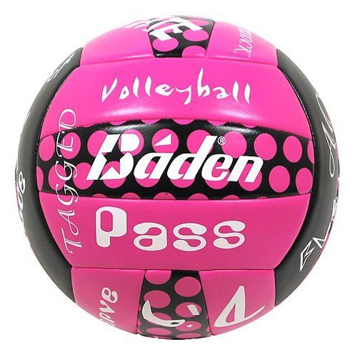 Baden Matchpoint Sayings Official Size 5 Cushioned Volleyball Green Pink Blue By Baden 20 35 Baden M Volleyball Tournaments Volleyballs Coaching Volleyball