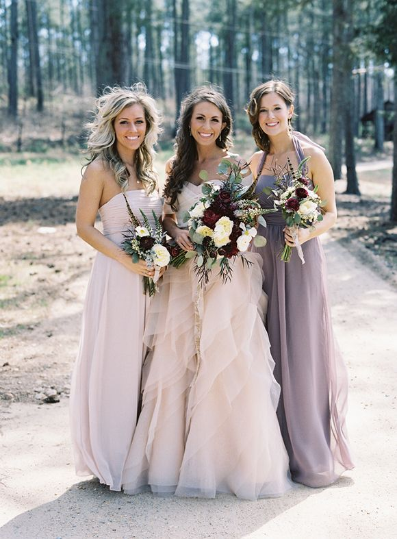 39 neutral bridesmaid dress trends we are loving wedpics for Two color wedding dress