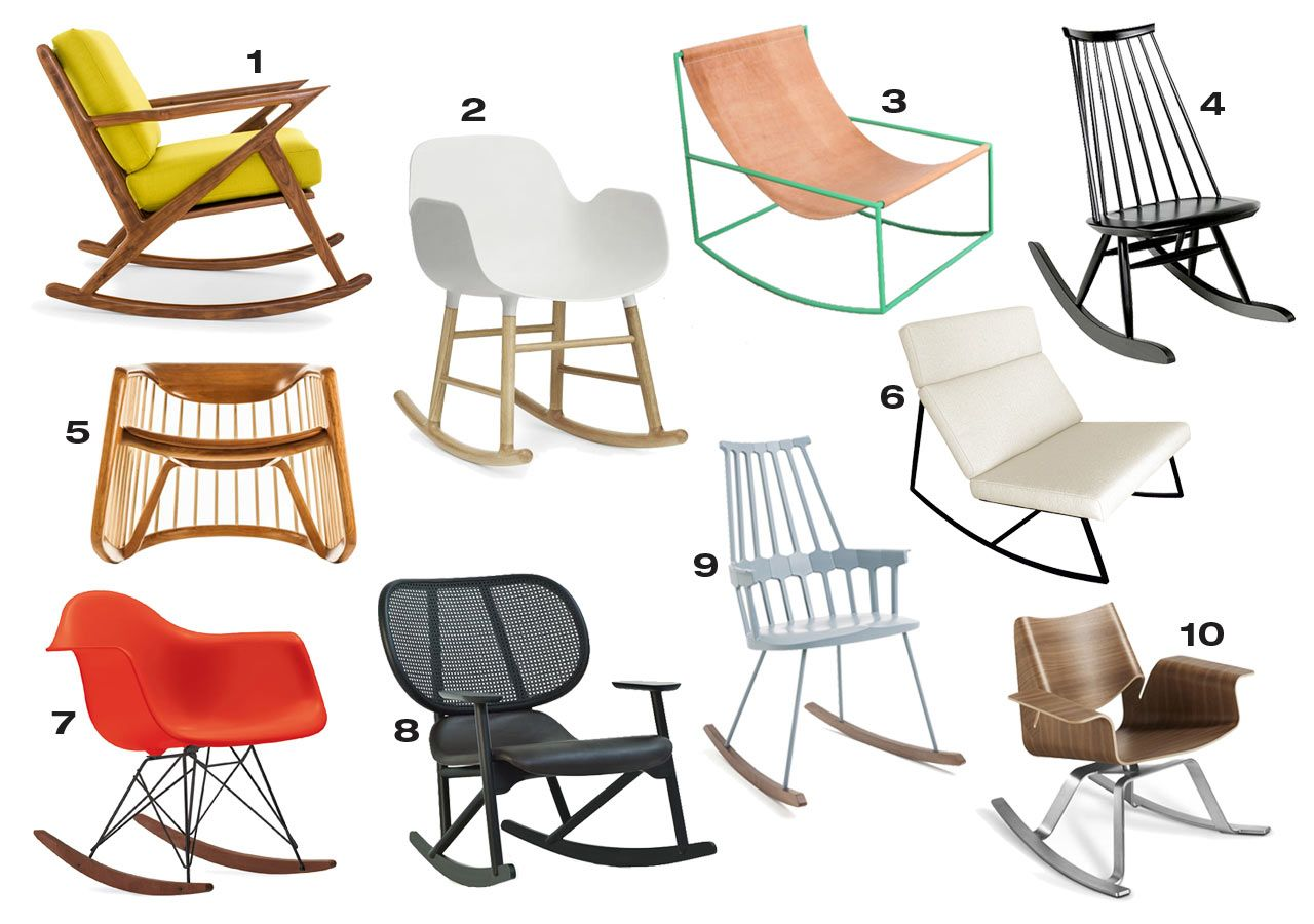 10 Modern Rocking Chairs That Could Work In Any Room Rocking