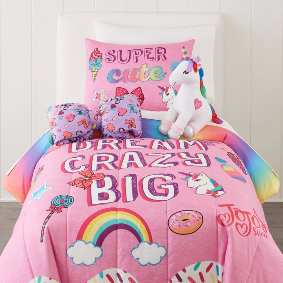 Jojo Siwa Bedding Set Twin Full Comforter Set Unicorn