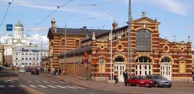 Helsinki | Die Alte Markthalle in Helsinki wurde 1889 eröffnet.