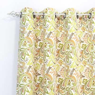 """Chooty Findlay Apricot 54X84 Grommet Curtain Panel CPG843067 - Chooty Findlay Apricot 54X84 Grommet Curtain Panel CPG843067Sku: CPG843067Manufacture: ChootyCategory: CurtainsSub-Category: Grommet Window PanelsFeatures: 54"""" X 84"""" Curtain Panel2.5"""" Outside DiameterMade In Council Bluffs, Iowa"""