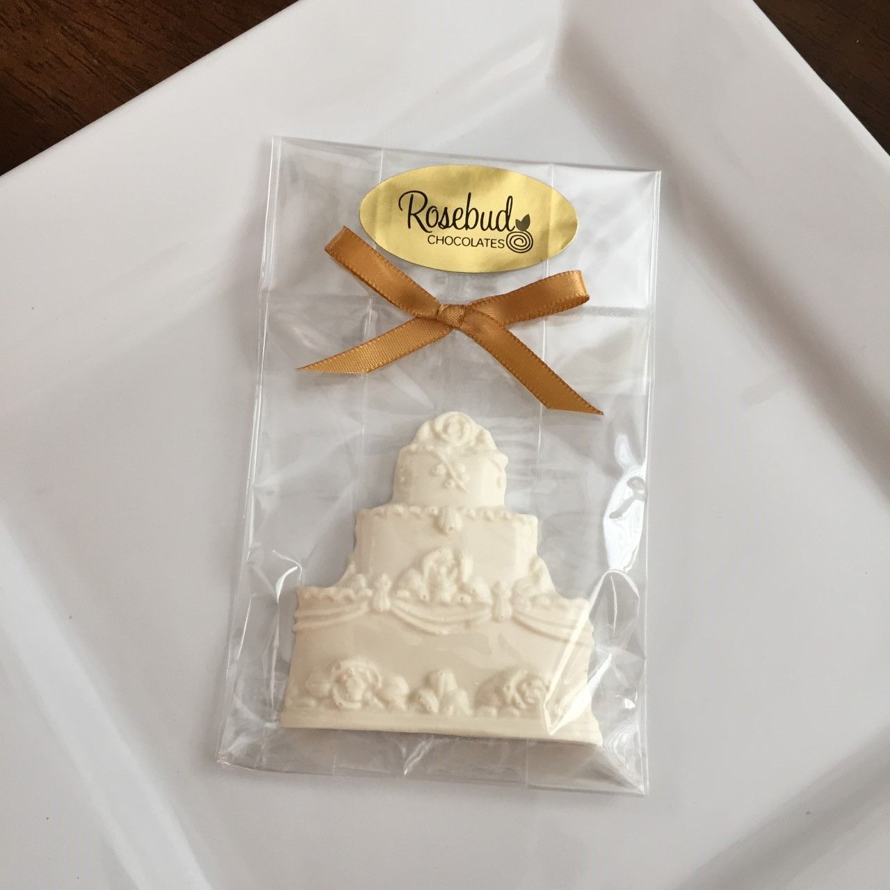 White Chocolate Wedding Cake Candy Party Favors, Wedding, Birthday ...