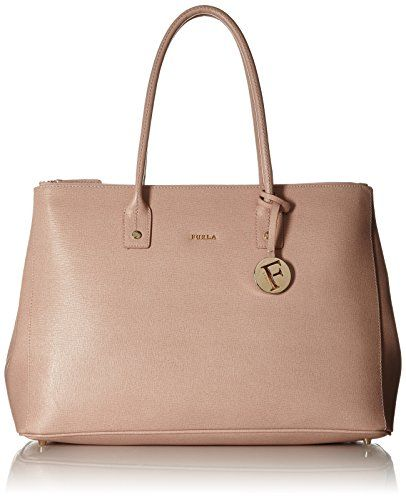 Top Handle Handbag On Sale, Moonstone, Leather, 2017, one size Furla