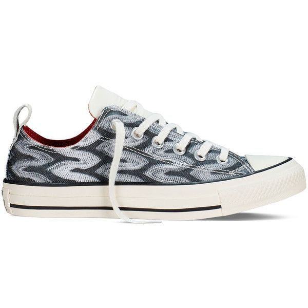 bdfbc1580a91 Converse Chuck Taylor All Star x Missoni – black Sneakers ( 95) ❤ liked on  Polyvore featuring shoes