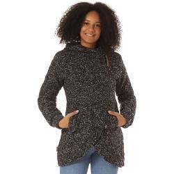Kapuzenmäntel für Damen #asymmetrischerschnitt