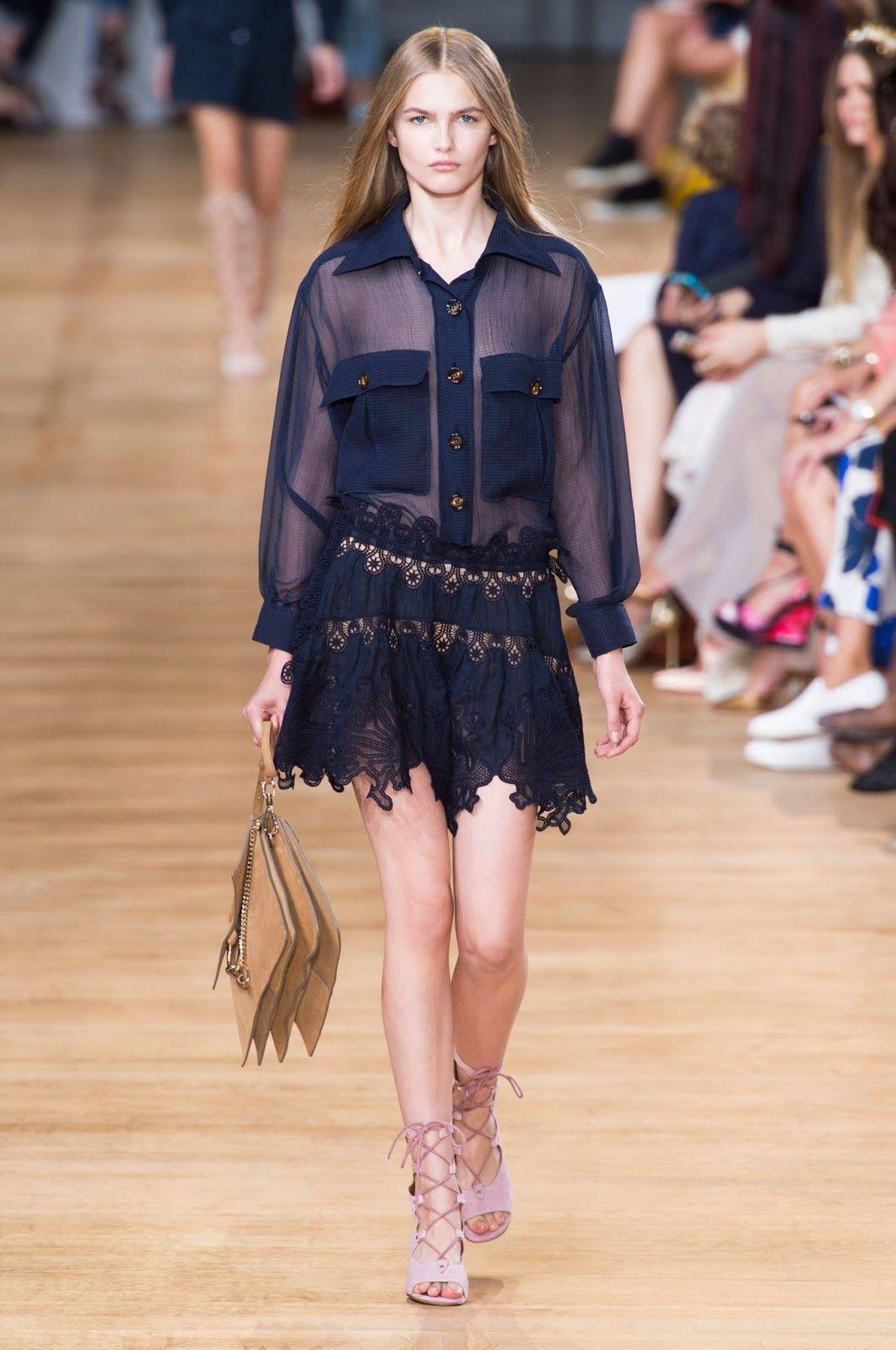 CHLOE' Spring/Summer 2015 Collection Paris Fashion Week