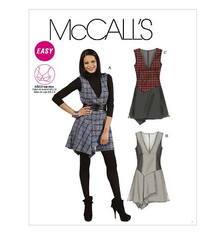 M6396 out of print jumper pattern | Sewing Patterns and Fabrics ...