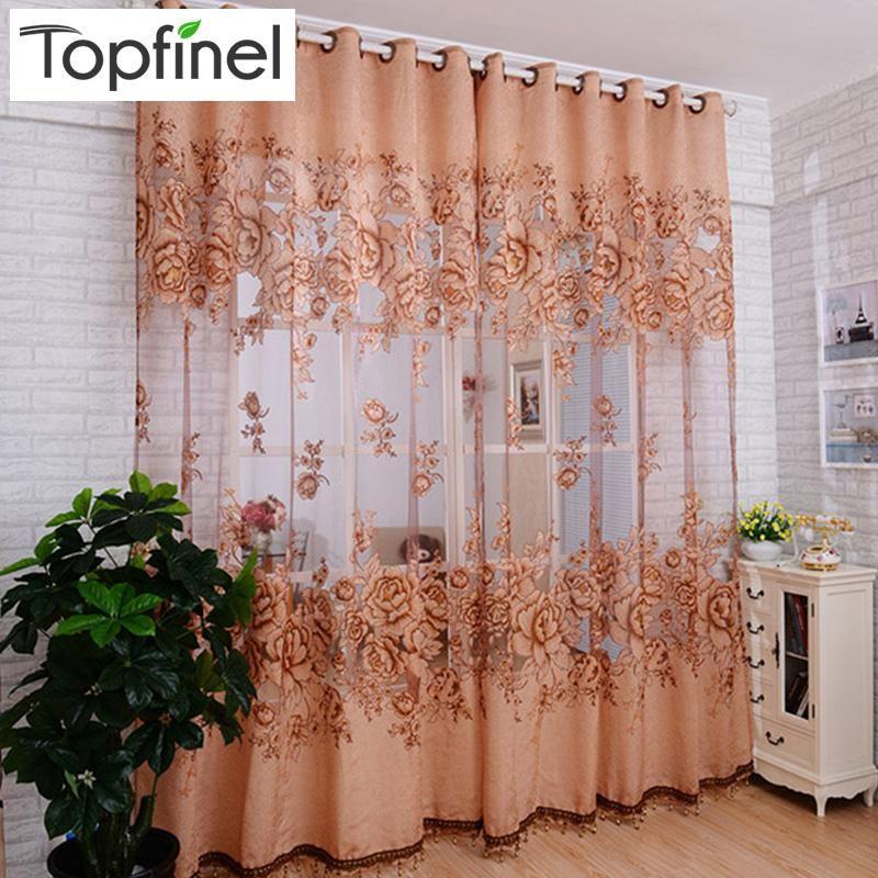 New tulle in Translucidus window curtain Jacquard