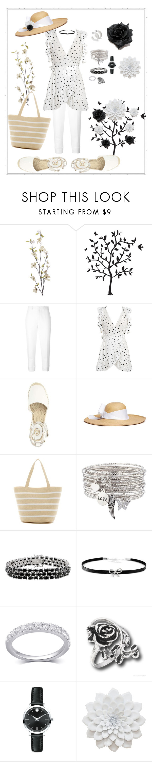 """Ruffle Tops - VII"" by mary-kay-de-jesus ❤ liked on Polyvore featuring Pier 1 Imports, Godinger, Marni, WithChic, Sensi Studio, Magid, Giani Bernini and Movado"
