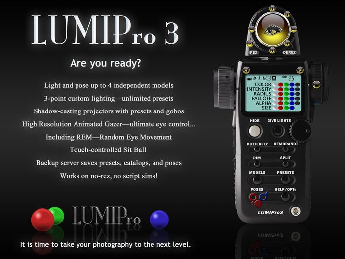 LUMIPro HUD V3