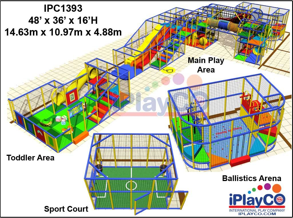 New exciting indoor playground equipment sample designs by