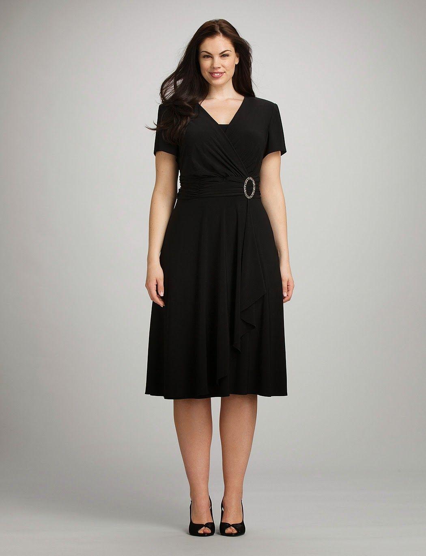 Moda para mujeres gorditas espectaculares vestidos de - Ropa de fiesta para gorditas ...