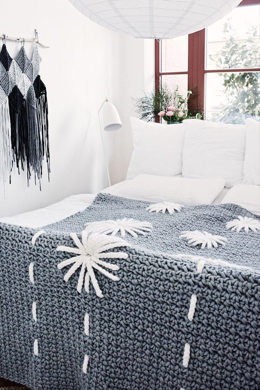 Crochet Blanket Pattern Flowers | Ideas textiles | Pinterest | Manta ...
