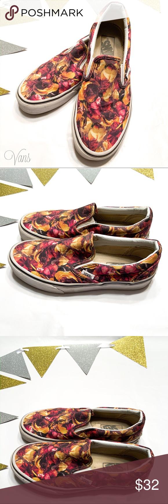 Vans Rose Petal Classic Slip On Sneaker